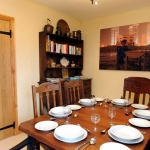 The Cow Shed dining room