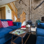 Cosy lounge in The Barn